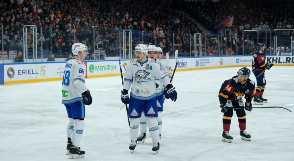 «Барыс» в третий раз в сезоне проиграл «Магнитке»