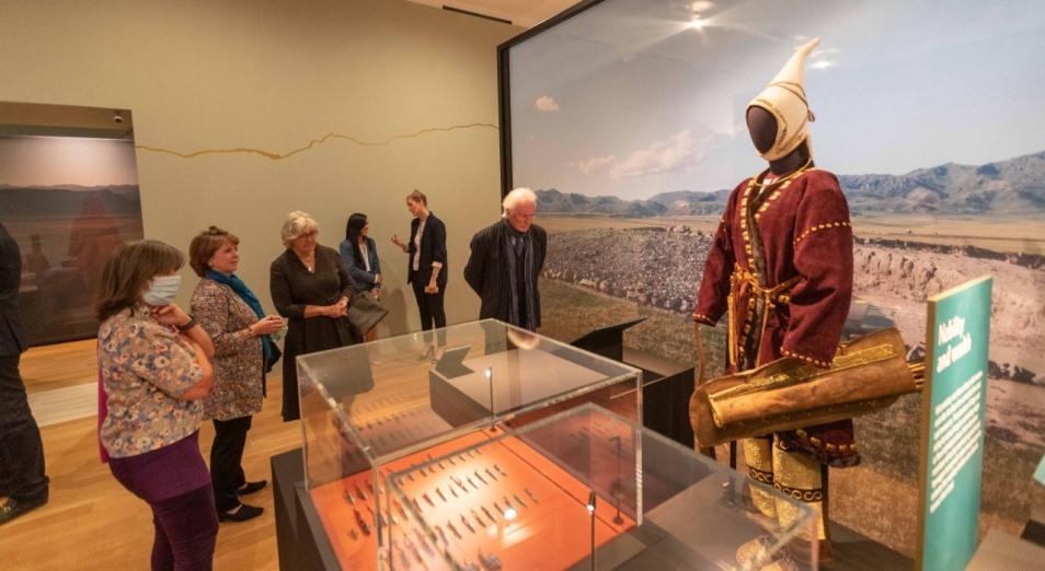 Выставку из ВКО «Золото Великой степи» в Кембридже назвали сенсацией