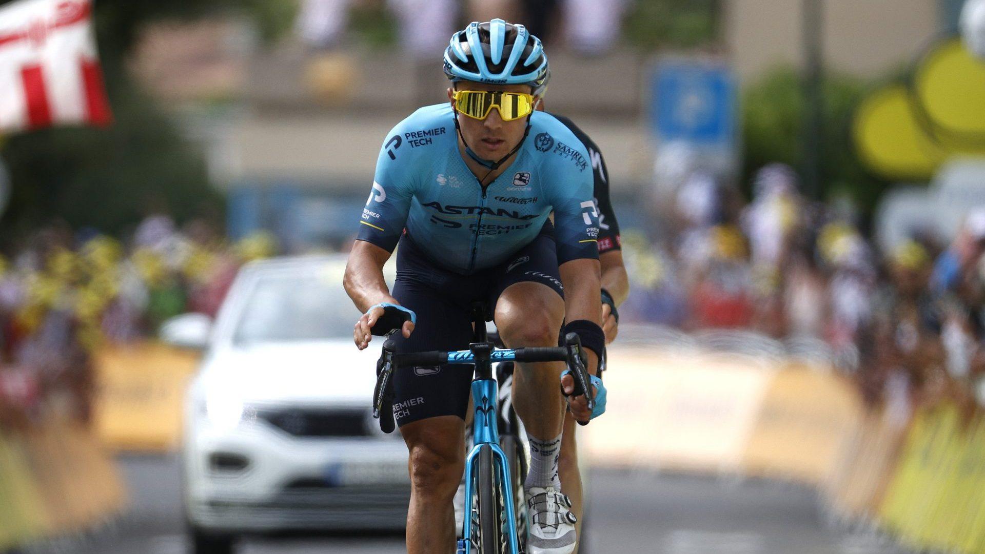 Луценко вошел в первую восьмерку этапа Тур де Франс на Мон-Ванту