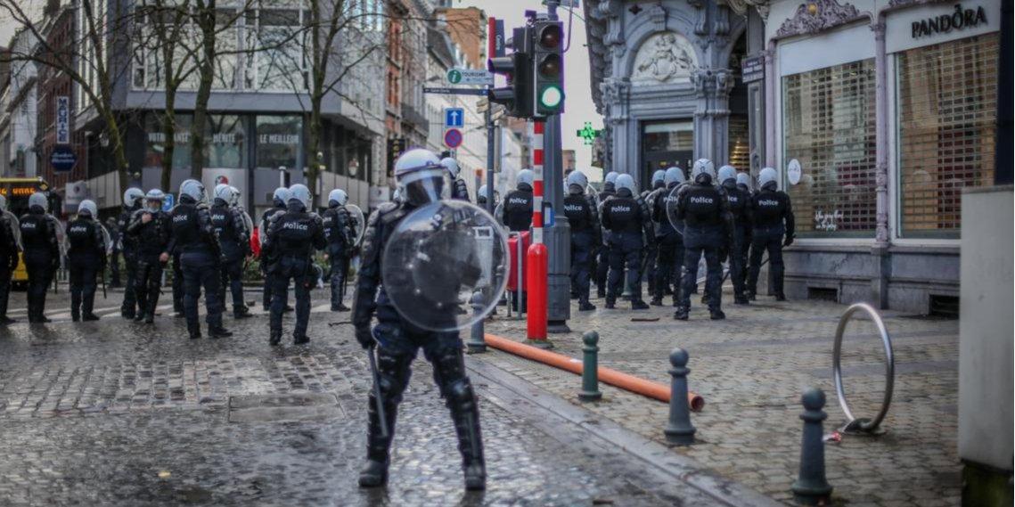 Манифестация Black Lives Matter в бельгийском Льеже вылилась в погром