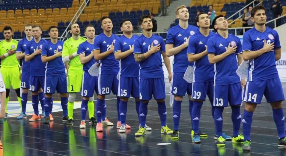 Казахстан гарантировал себе место в плей-офф футзального мундиаля