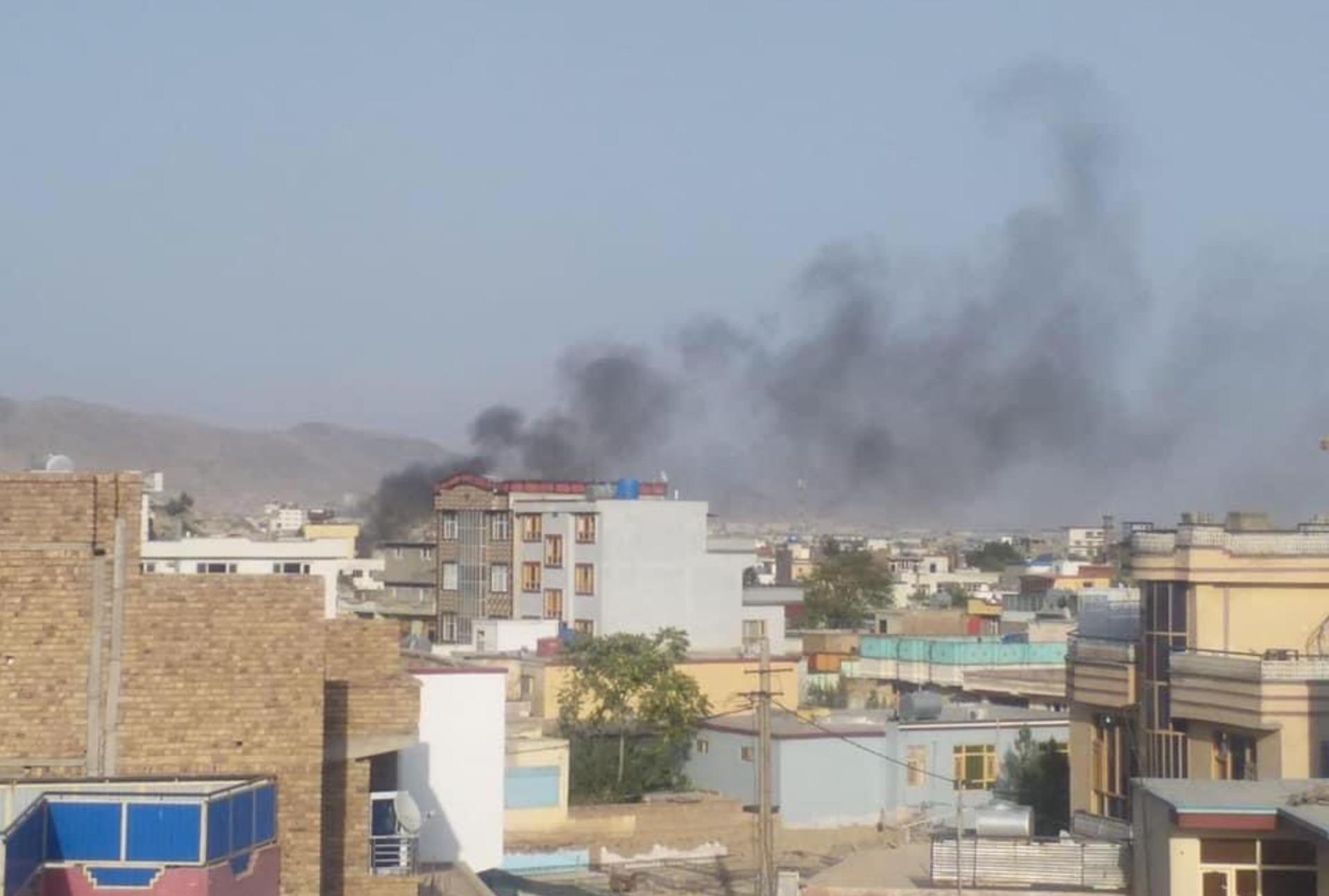 Ударом ракеты в Кабуле уничтожен смертник, планировавший теракт близ аэропорта