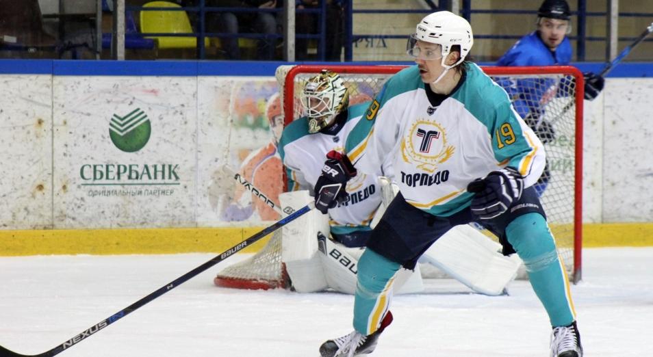 «Торпедо» стало первым финалистом хоккейного Кубка страны