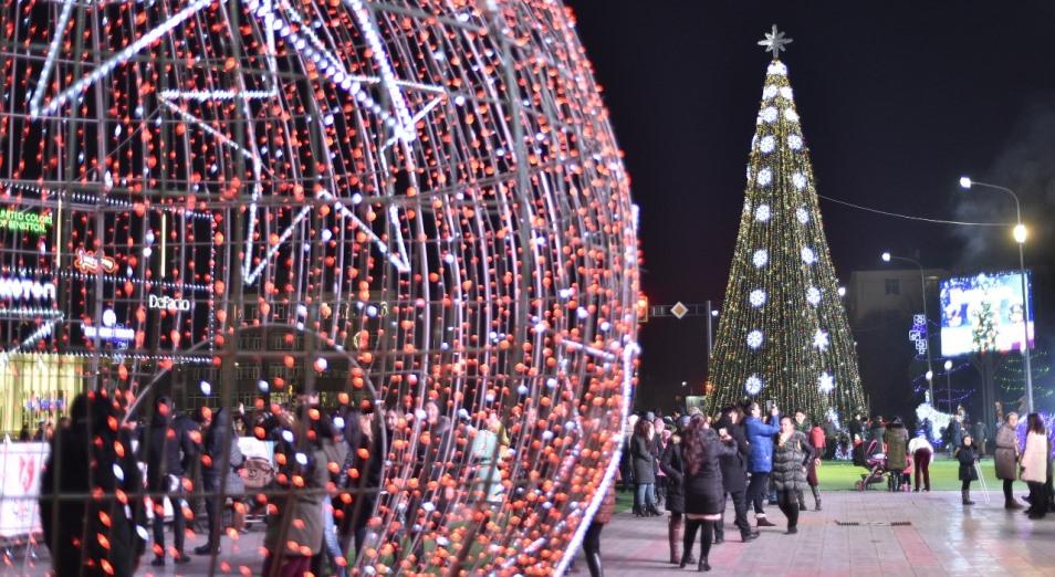 Новые праздничные украшения обойдутся Шымкенту почти в 80 млн тенге