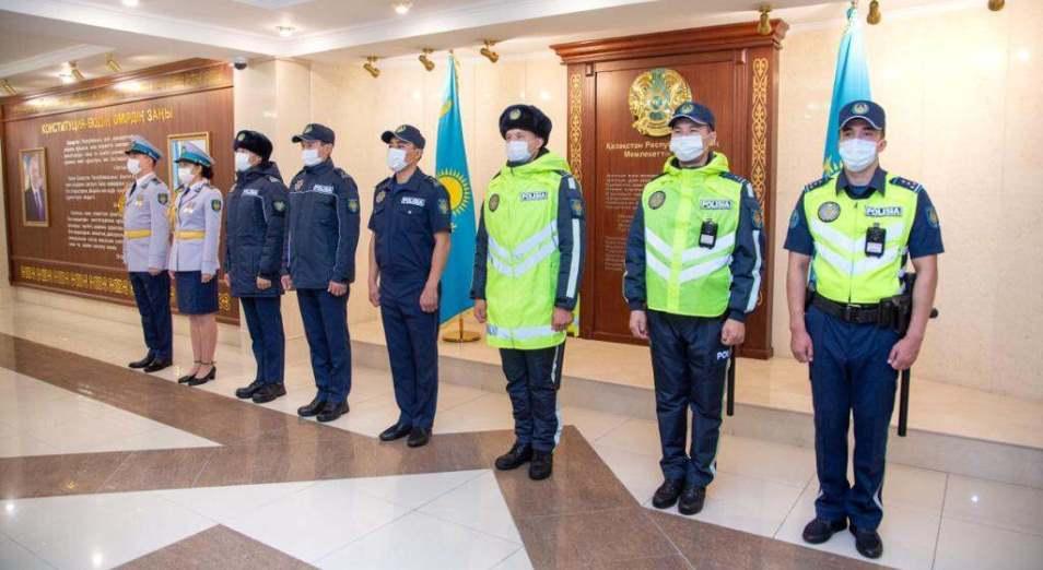 МВД показало, как выглядит новая полицейская форма