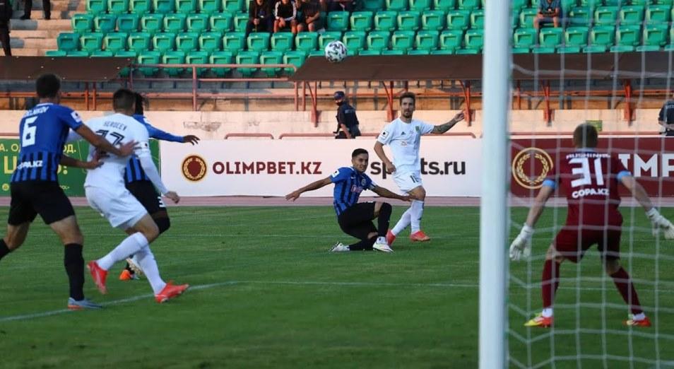 Кубок Казахстана: «Мактаарал» обыграл лидера КПЛ