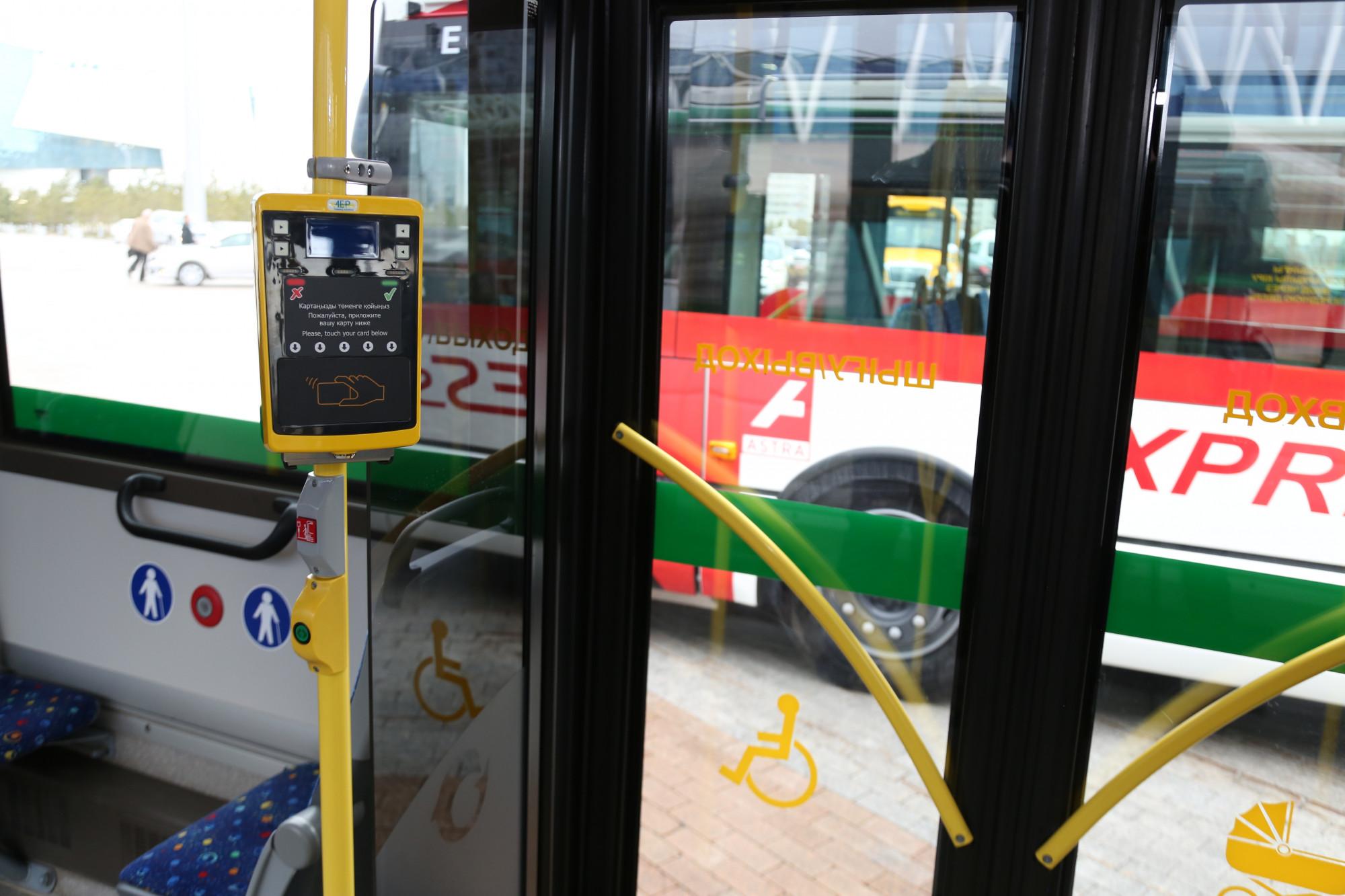 В столичных автобусах с мая отключат плату за проезд по SMS