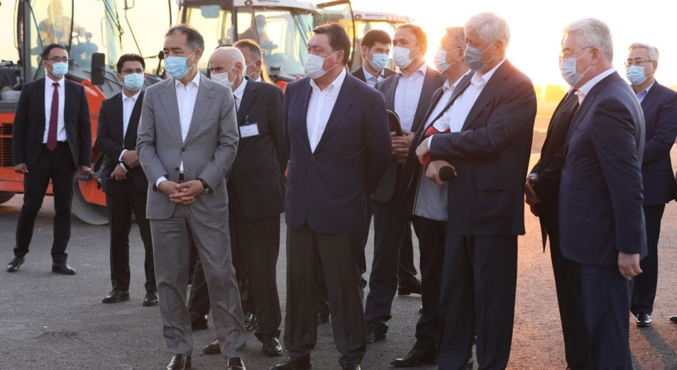 Премьер-Министр ҮАААЖ құрылысын 2022 жылдың соңына дейін аяқтауды тапсырды