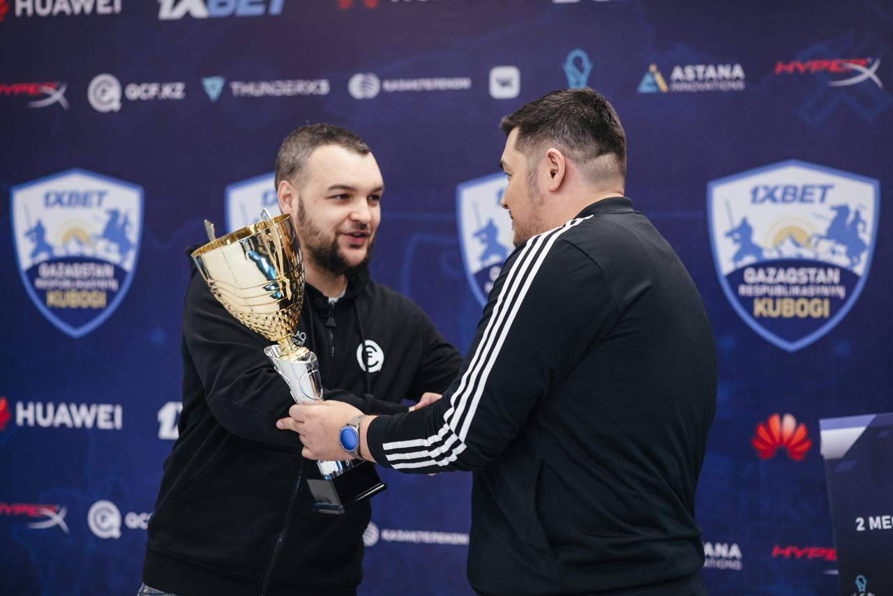 Призовой фонд Кубка Казахстана по e-спорту вырос в два с лишним раза