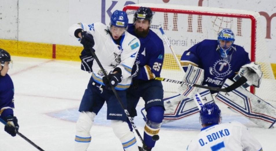 Чемпионат Казахстана по хоккею: «Торпедо» воцарилось на первом месте