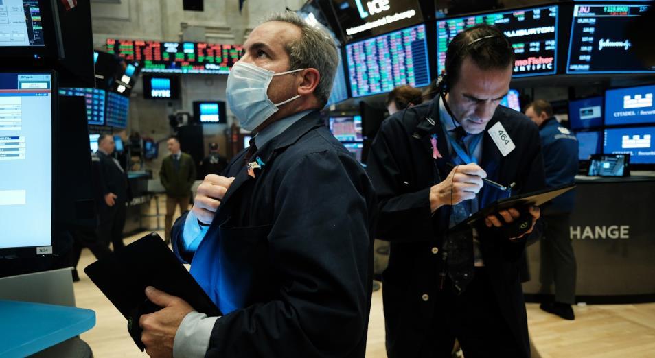 Американский рынок закрылся в минусе на фоне опасений об увеличении инфляции
