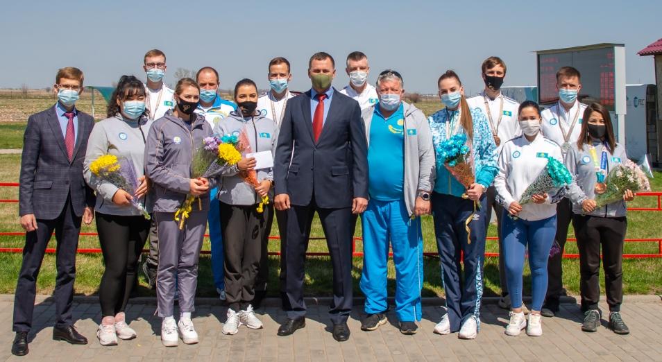 Шесть медалей в копилку Казахстана на Кубке мира по стрельбе