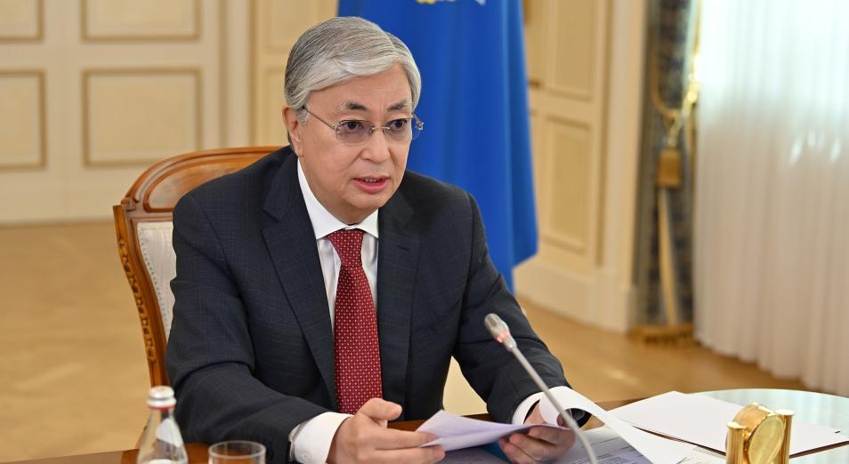 Токаев заявил о важности недопущения гуманитарного и продовольственного кризиса в Афганистане