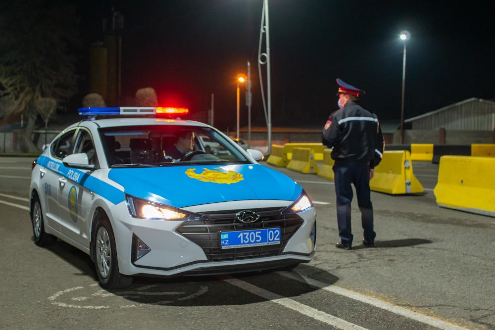 В праздничные дни на въездах в Алматы установят посты