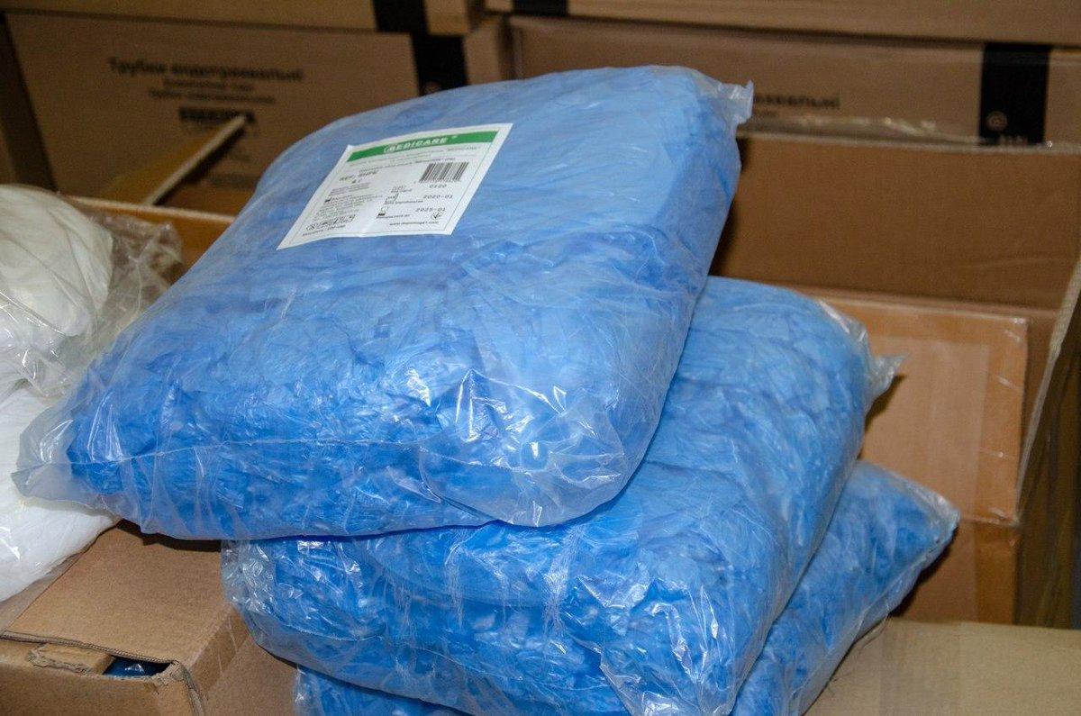 Компания использовала медицинские товары гуманитарного назначения в личных целях