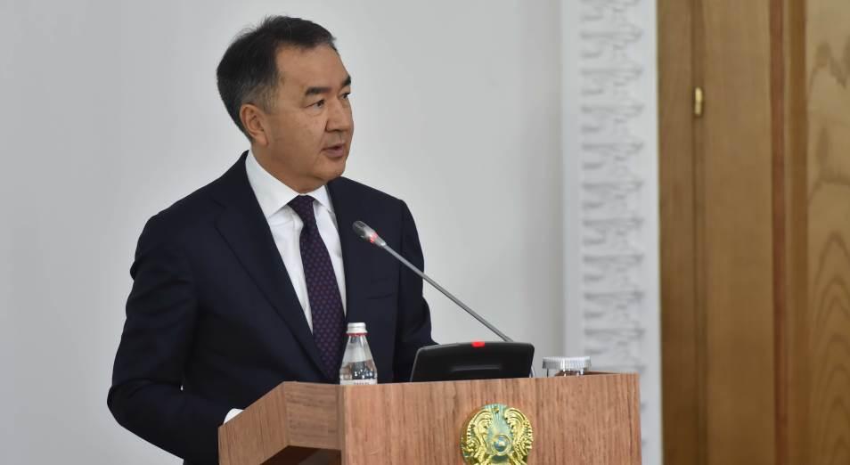 Бакытжан Сагинтаев: Пострадавшим во время пандемии предпринимателям окажут поддержку