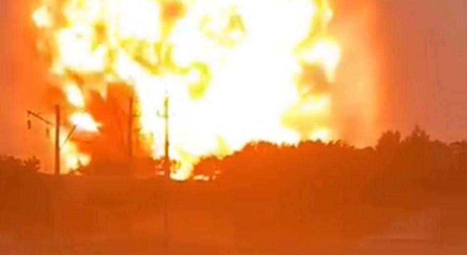 Хроника событий взрывов в Жамбылской области