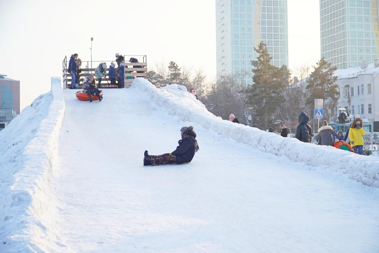 Где провести зимний досуг в Нур-Султане?