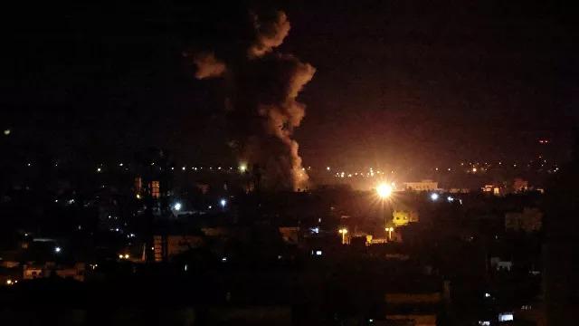 Израиль Газа секторындағы «ХАМАС» нысандарына шабуыл жасады
