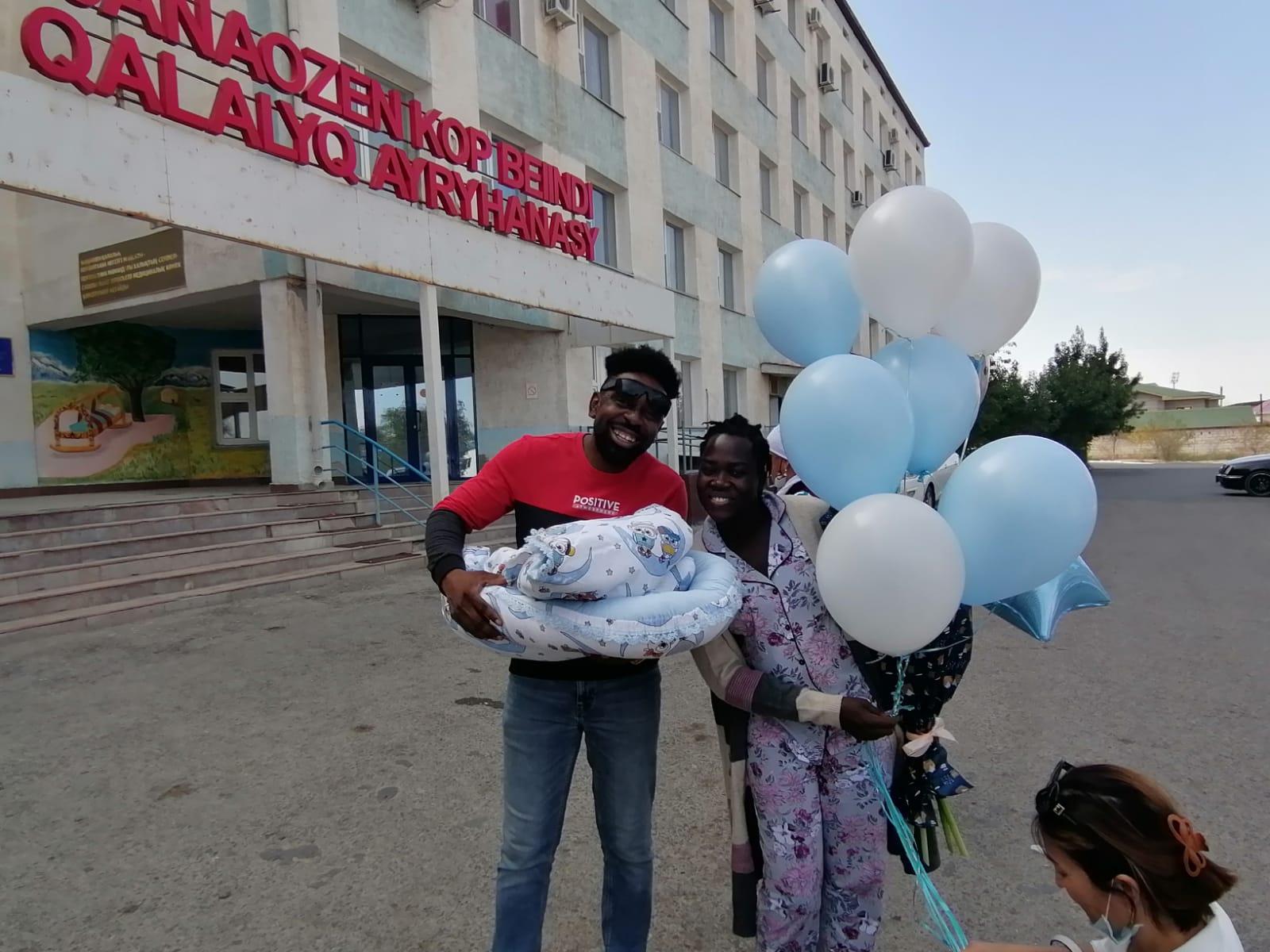 Маңғыстау жерінде Нигерия азаматы дүниеге келді
