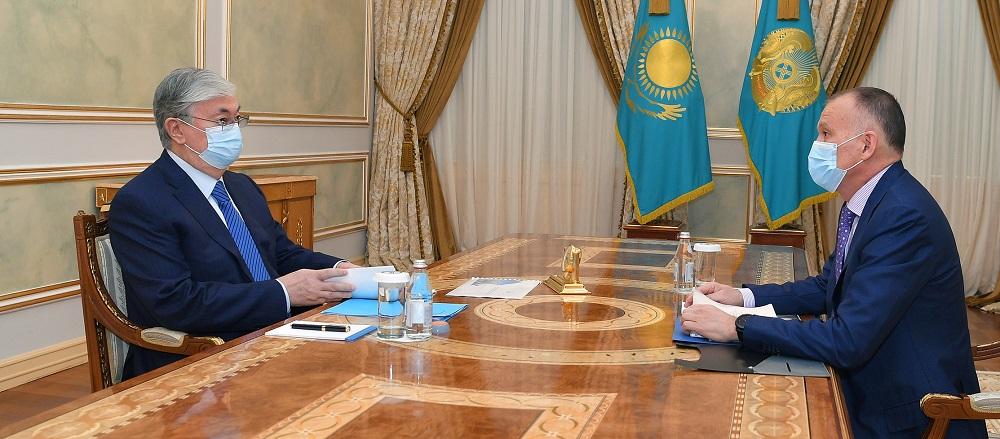 Президенту Казахстана рассказали о подготовке к выборам сельских акимов