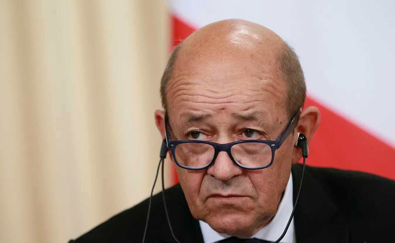 Глава МИД Франции заявил о кризисе в отношениях с США