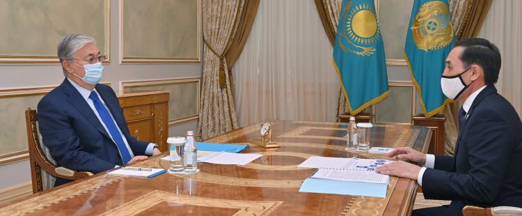 Президент ҚХА Төрағасының орынбасары Марат Әзілхановты қабылдады