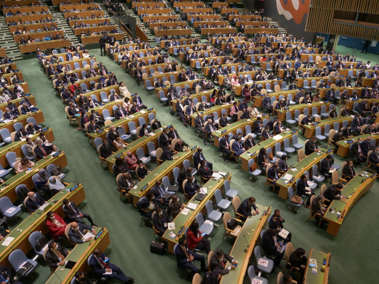 Нью-Йоркте БҰҰ Бас Ассамблеясының 76-сессиясы ашылды
