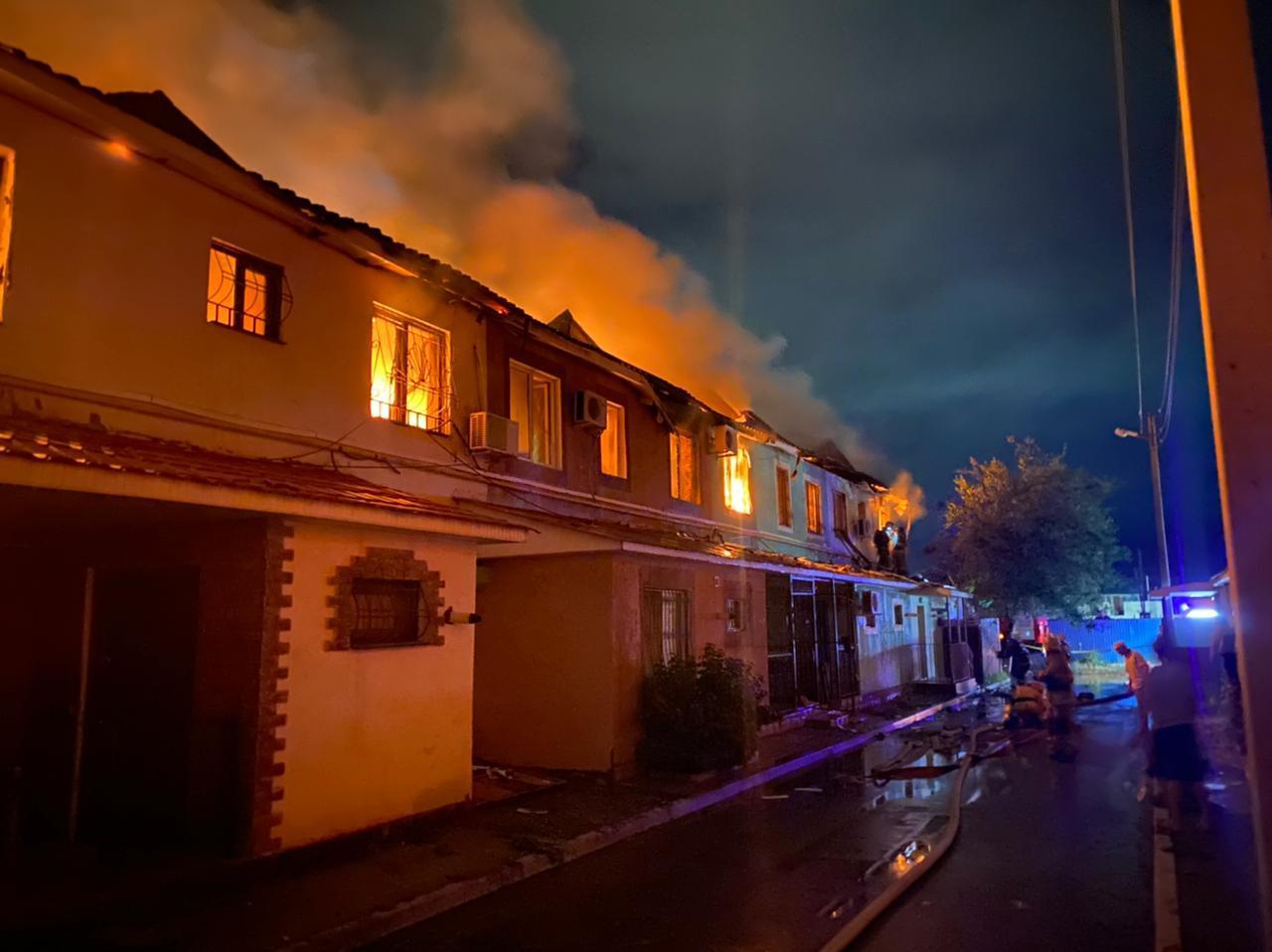 Атырауда «Гаухартас» тұрғын үй кешенінен өрт шықты