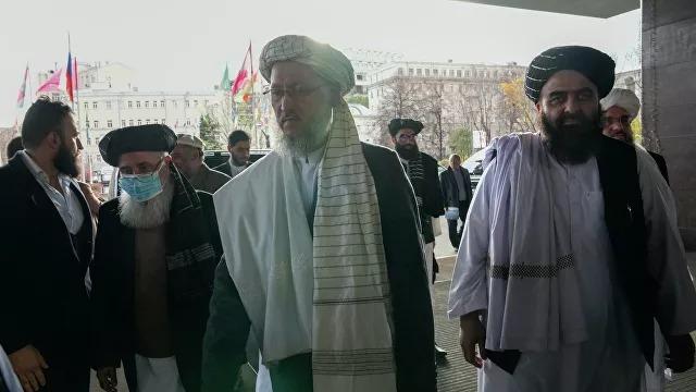 «Талибан» делегациясы Мәскеуге барды