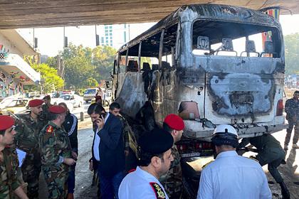 Дамаск қаласындағы теракт салдарынан Сирияның 14 әскериі қаза тапты
