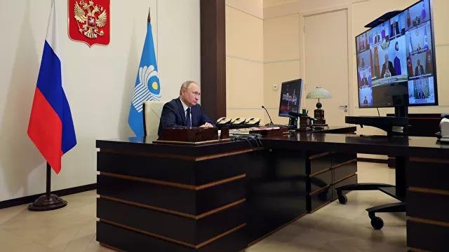 Путин: Орыс тілі ТМД елдерін біріктіріп отыр