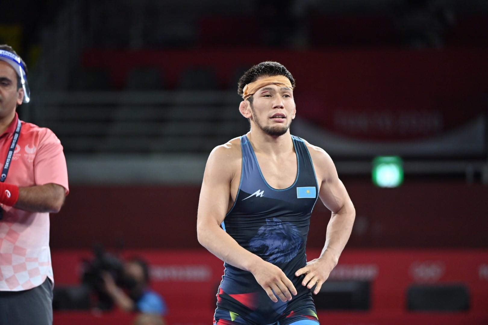 Нұрислам Санаев еркін күрестен Токио Олимпиадасының қола жүлдегері атанды