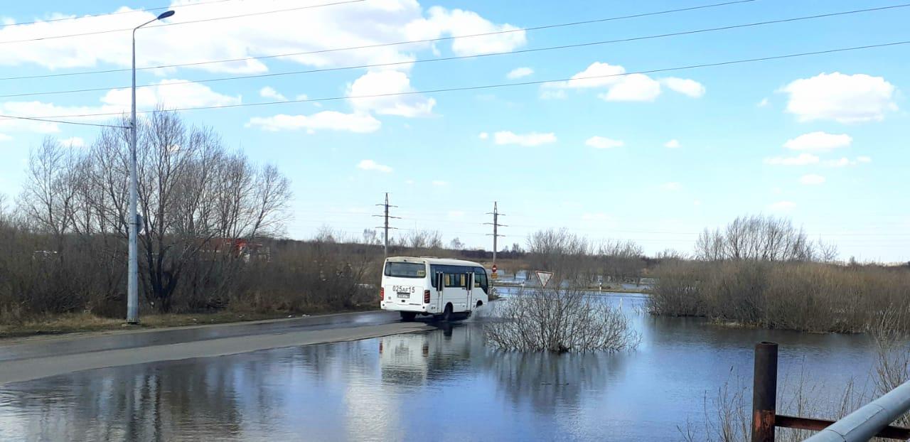 Большая вода пришла в Петропавловск