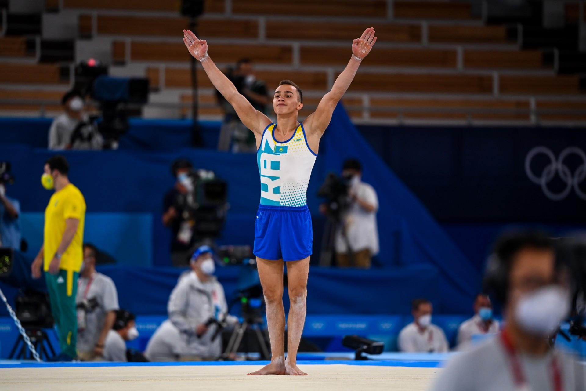 Милад Карими спорттық гимнастикадан үш жаттығу бойынша финалға шықты