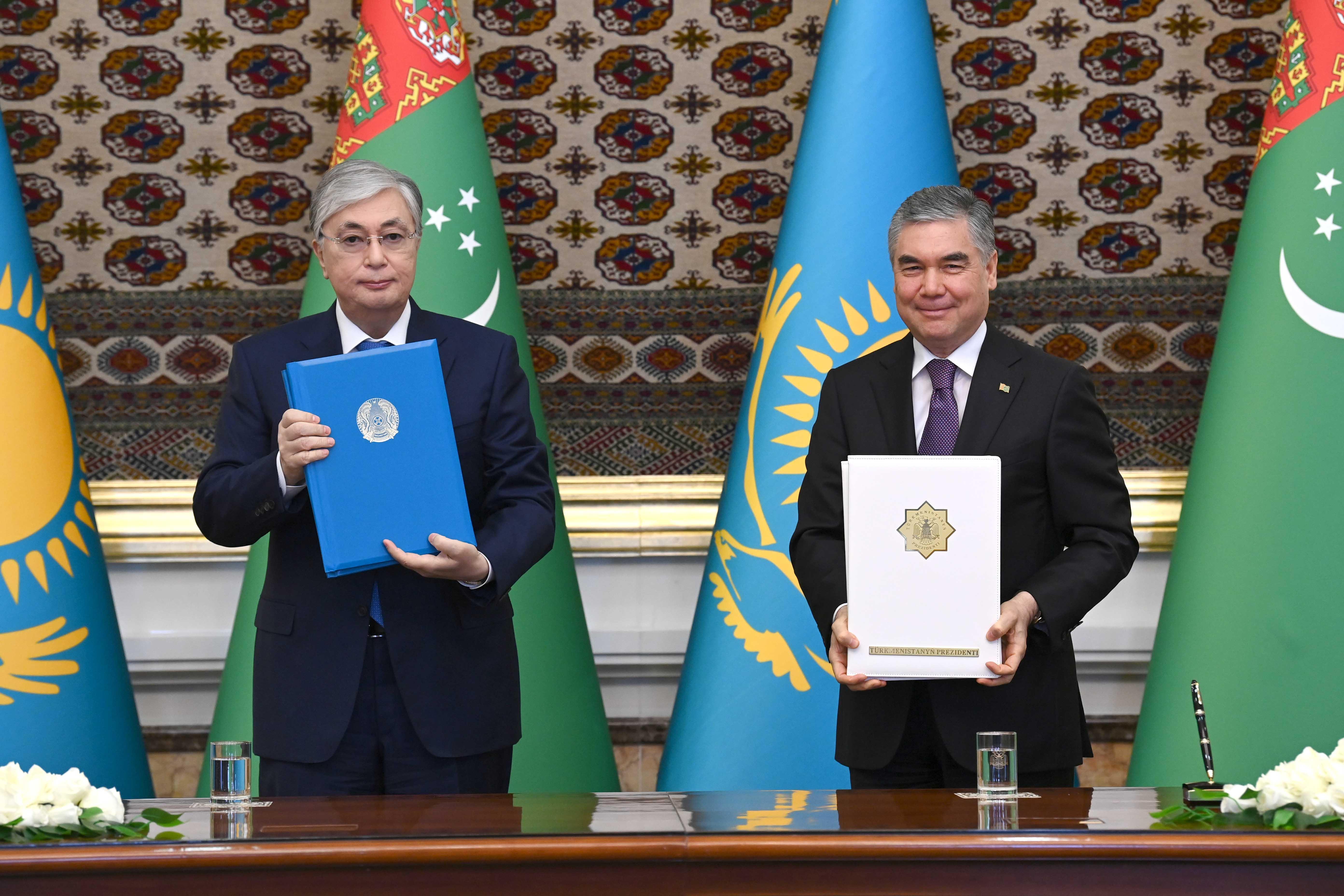 Президент: Қазақстан Түрікменстанға 60 түрлі тауар экспорттауға дайын