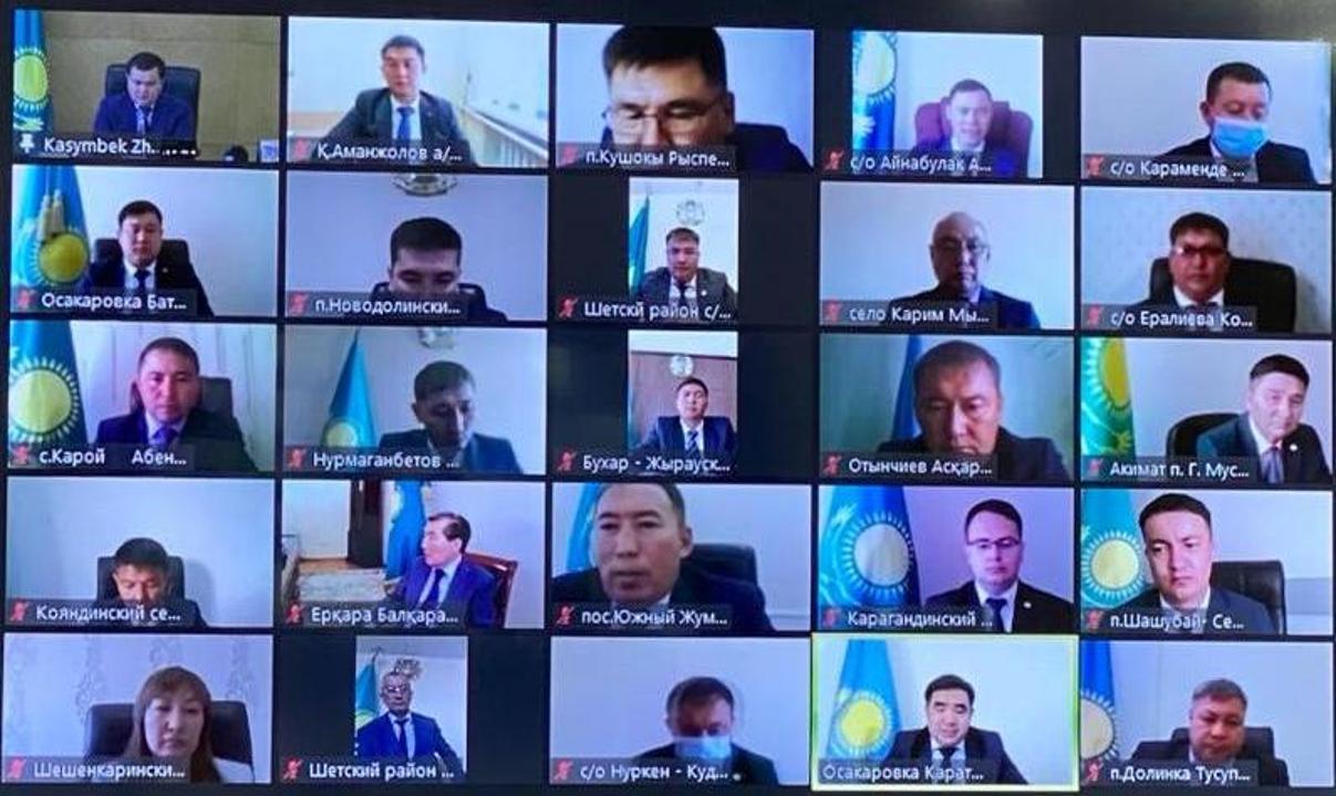 Қарағанды облысында сайланған 75 ауыл әкім қызметіне кірісті