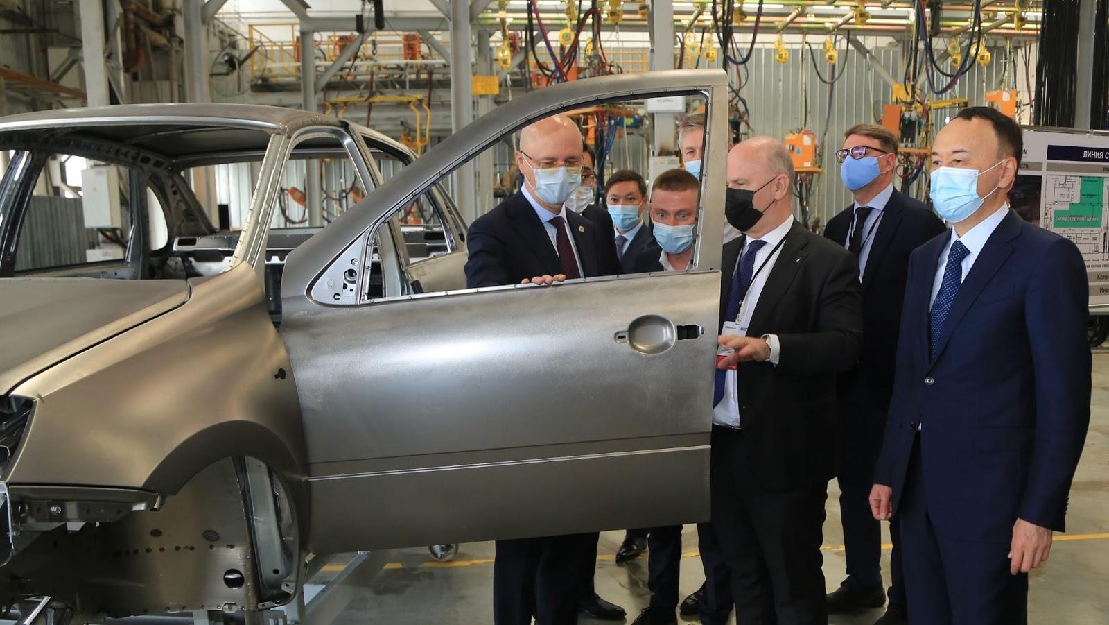 Новый завод «КамАЗ» стоимостью 82 млрд тенге построят в Казахстане