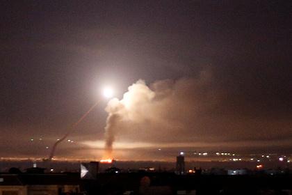 Сирия астанасына әуеден шабуыл жасалды