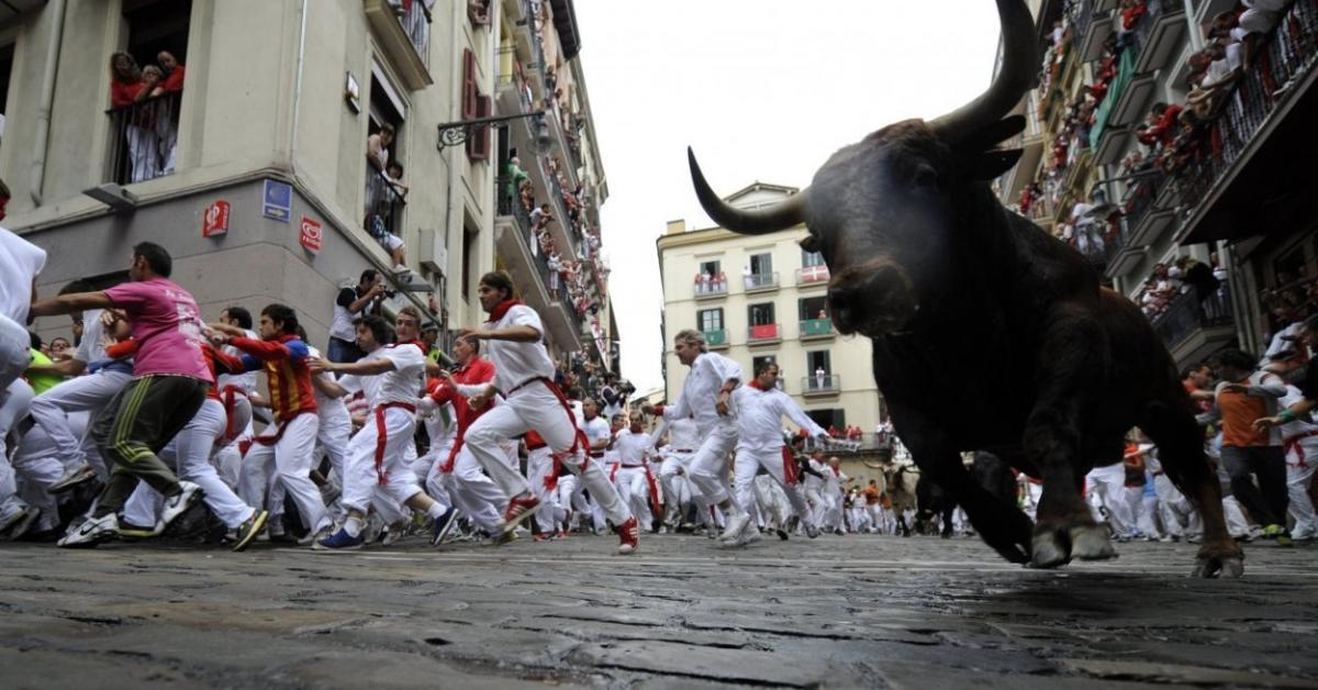 В Испании второй год подряд отменяют фестиваль, знаменитый бегами от быков