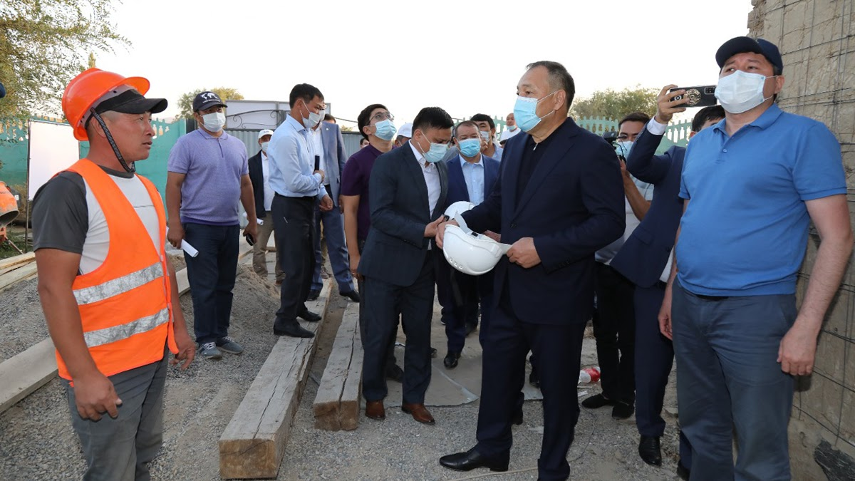 Ералы Тоғжанов бастаған үкіметтік делегация Жамбыл облысына жұмыс сапарымен барды
