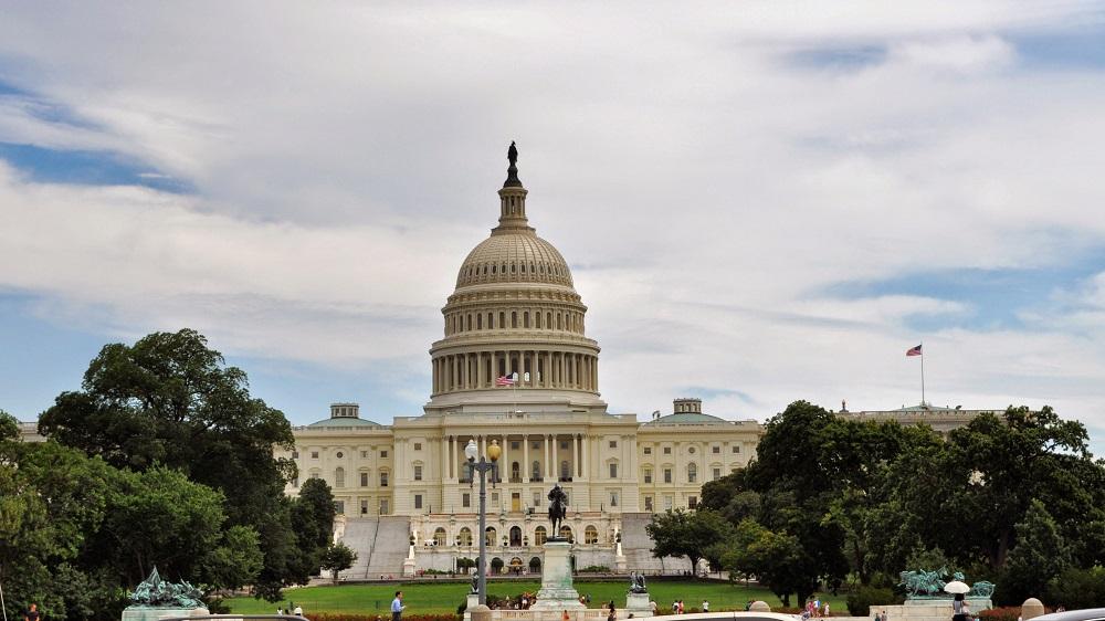 Четыре человека арестованы на митинге у здания Капитолия в Вашингтоне