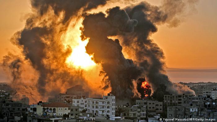 Глава МИД ФРГ Мас представил план деэскалации конфликта в Газе