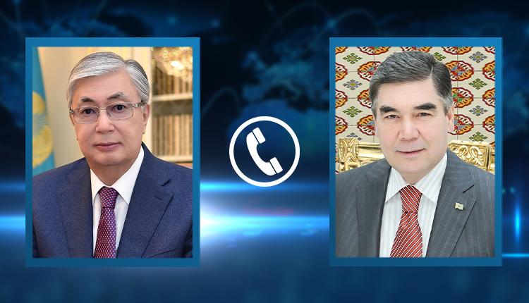 Гурбангулы Бердымухамедов пригласил президента РК в Туркменистан