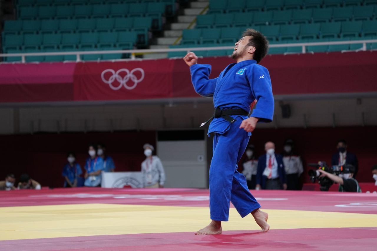 Алғашқы медаль: Елдос Сметов Токио Олимпиадасының қола жүлдегері атанды