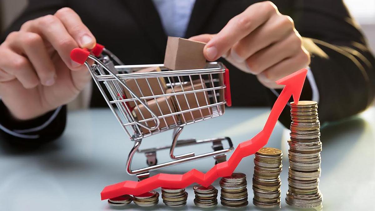 Инфляция в России ускорилась до 6,5%
