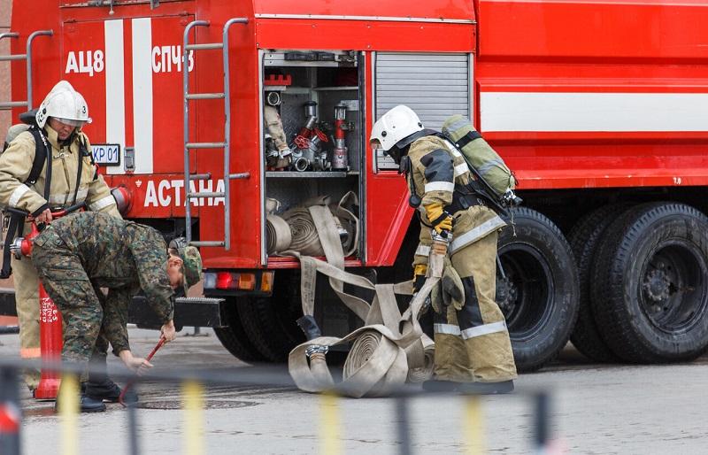 В Нур-Султане сгорели 36 мотоциклов
