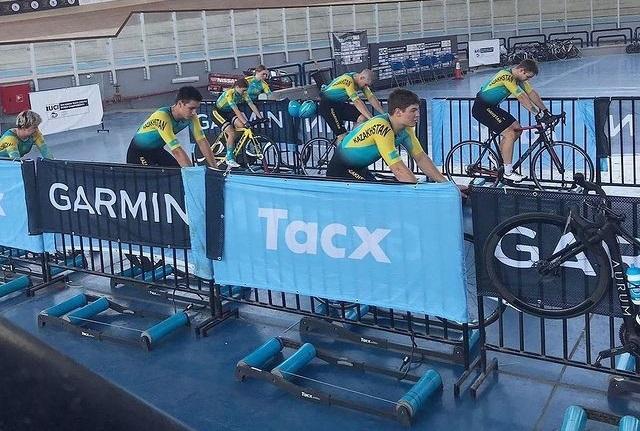 Тректегі велоспорттан Қазақстан жасөспірімдер командасы әлем чемпионатына қатысады