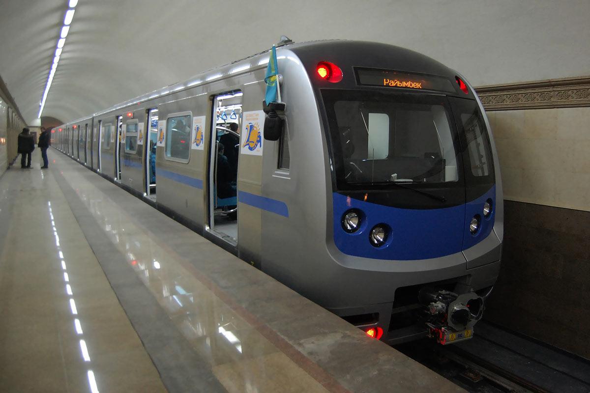 Метрополитен Алматы сократил пассажиропоток