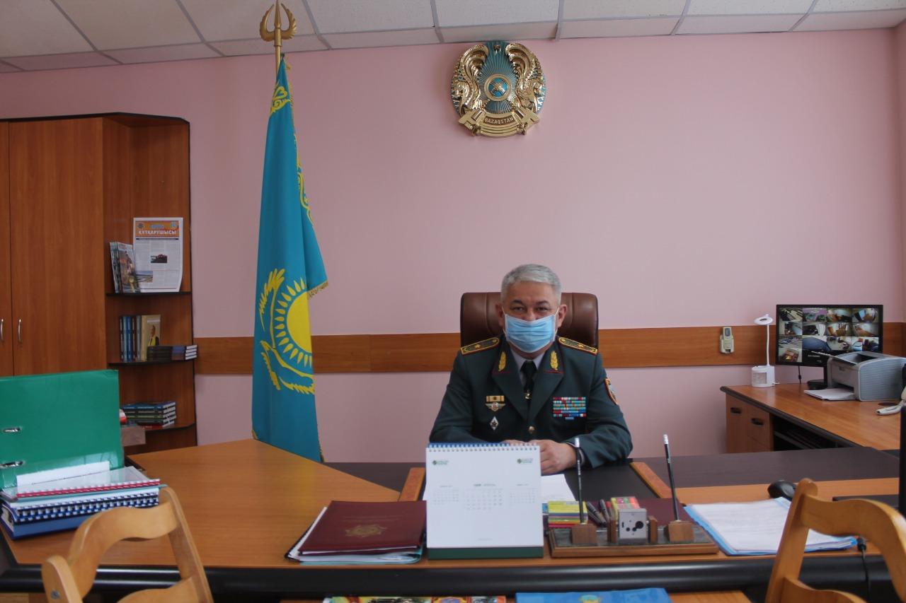 Павлодар облысы ТЖ департаментінің бастығы тағайындалды